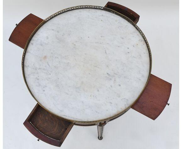 Table bouillote de style Louis XVI