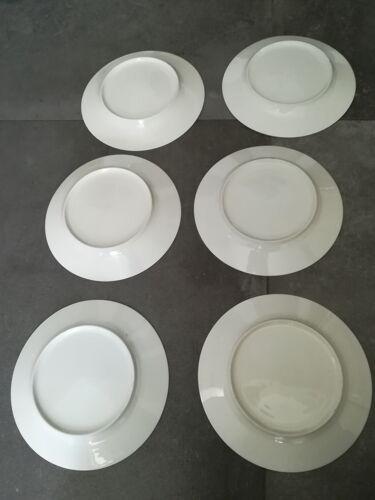 Lot de 10 assiettes anciennes