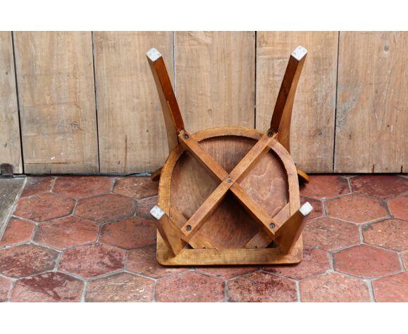Chaise en bois années 50