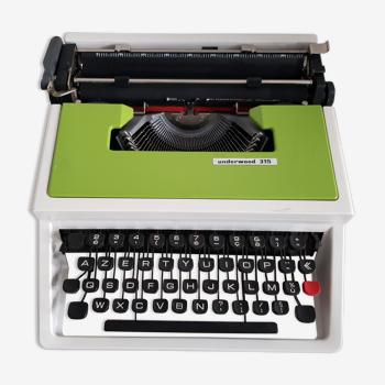 Machine à ecrire underwood