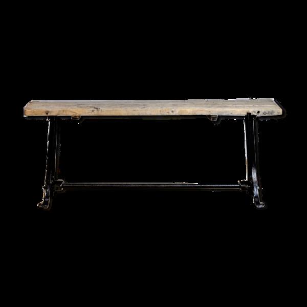 Table industrielle années 1950