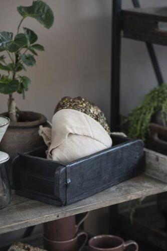 Ancien moule à brique indien noir