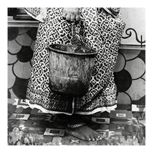Forte femme portrait photographie Rajasthan années 60