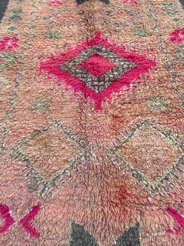 Tapis berbere vintage boujaad 160x400cm