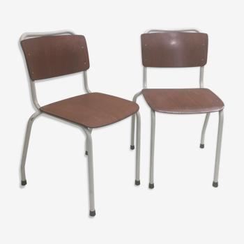 Paire de chaises hollandaises