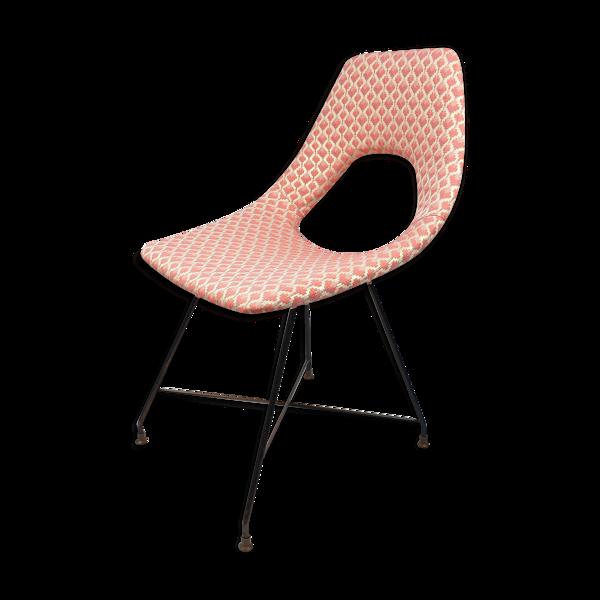 Selency Chaise par Augusto Bozzi et fabriqué par Saporiti, Italie 1954