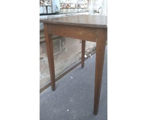 Bureau enfant en bois vintage