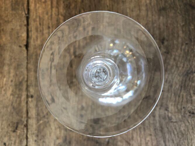 Set de 6 verres en cristal Baccarat