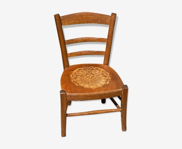 Chaise bistrot pour enfant années 1950