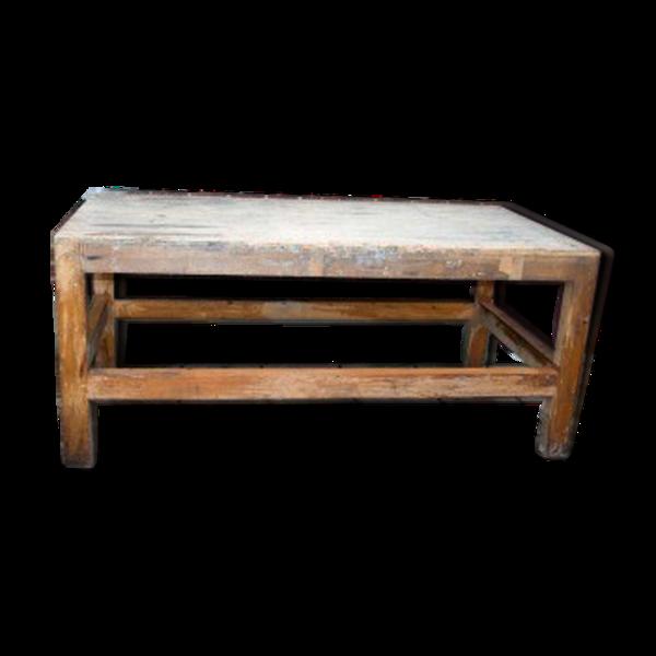 Table histoire industriel 200 cm