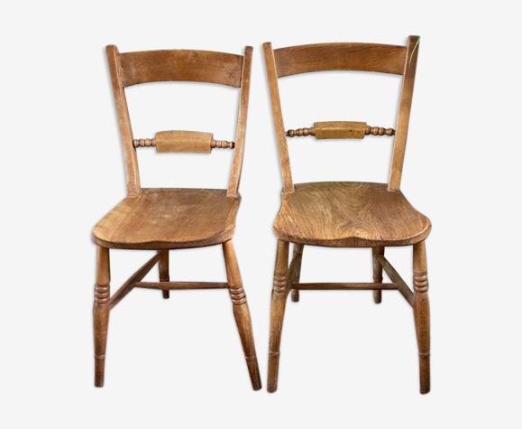 Paire de chaises anglaises