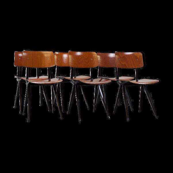 Selency Set de 6 chaises Friso Kramer 1950