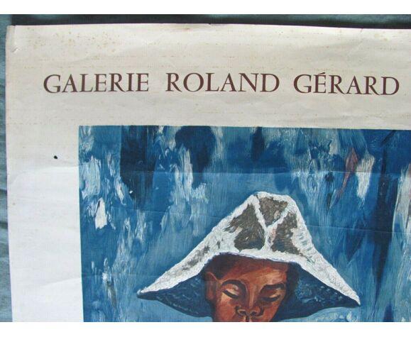 Affiche Exposition Claude Tabet - 1964
