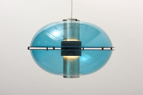 Paire de suspensions 'Orbiter' par Raak, Pays-Bas - années 1960