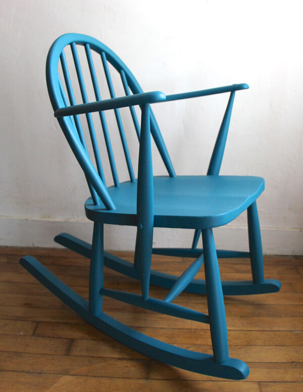 Rocking-chair Ercol vintage