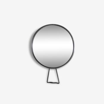 Miroir barbier grossissant