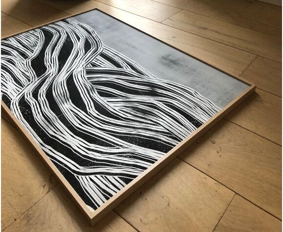 Brise Marine impression d'art par Maison Charlot (sans cadre)