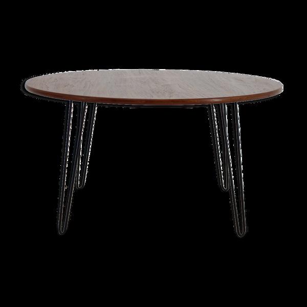 Table basse en teck des années 1960