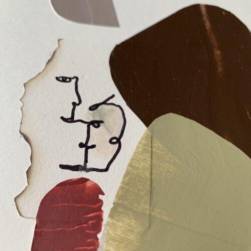 Collage 'Anton' de la série 'Names