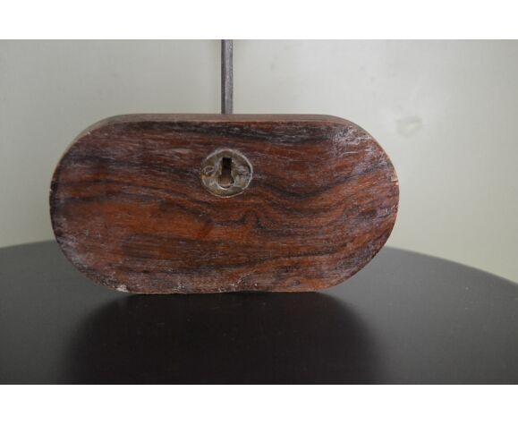 Porte manteau 1 patère bois