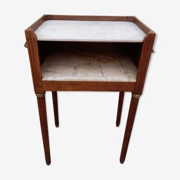 Table de chevet style louis xvi avec poignée