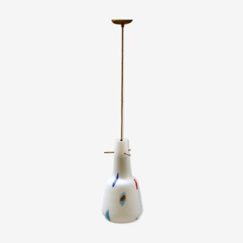 Lampe en verre de Murano, années 1960