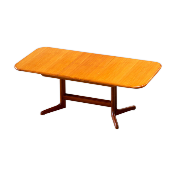 Selency Table scandinave en teck 1960