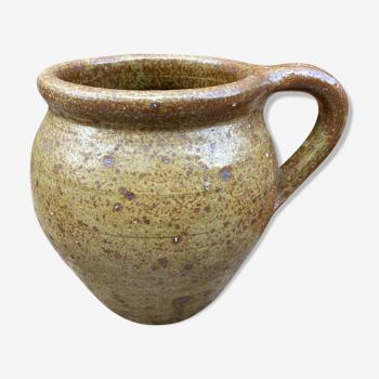 XL pot in pyrite sandstone - 70s