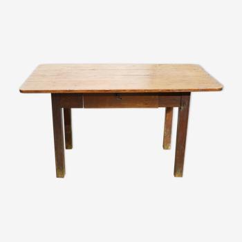 Table à manger de ferme vintage en bois