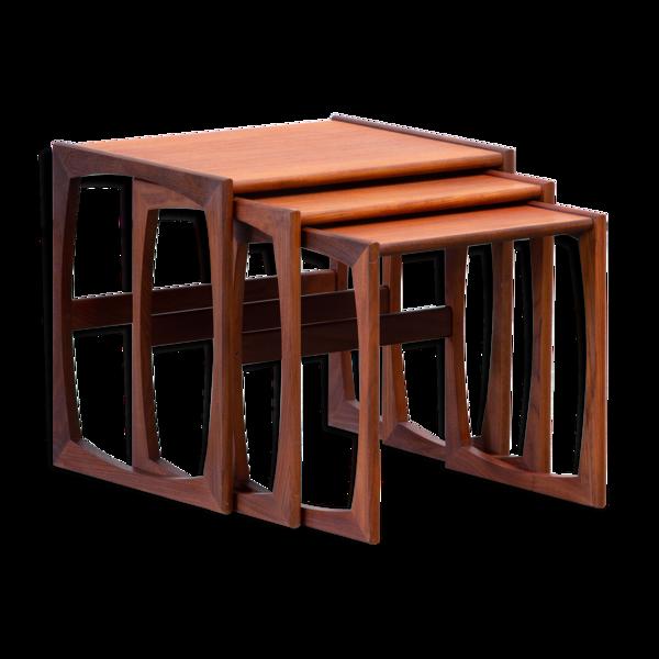Tables basses gigognes scandinave vintage