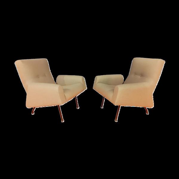 Selency Paire de fauteuils de Louis Paolozzi