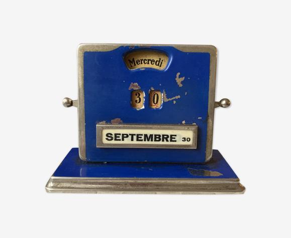 Calendrier perpétuel art deco de Jakob Mail 1930