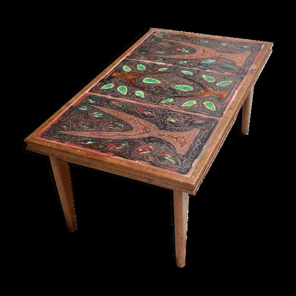 Selency Table basse céramique 1970
