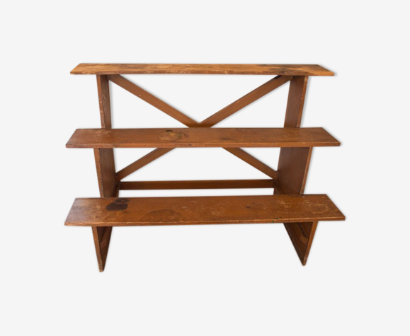 Escalier en bois vintage