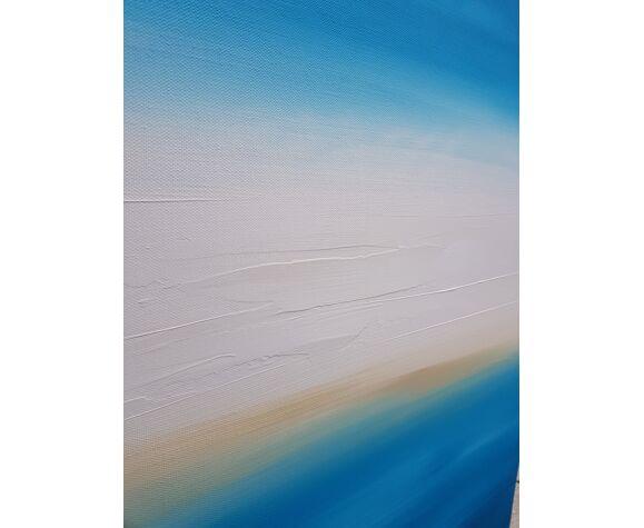 """Tableau peinture abstrait """"kos"""""""
