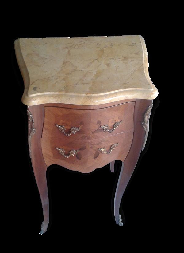 Selency Chevet louis XV bois de rose