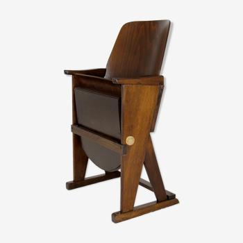Chaise de cinéma vintage de Ton, années 1960
