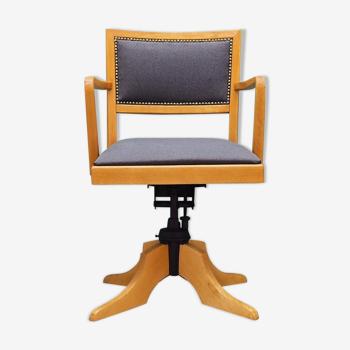 Fauteuil gris, design danois, 60, fabricant: Ehapa