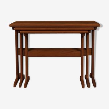 Tables gigognes des années 1960 Kai Kristiansen