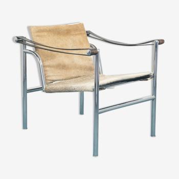 Armchair nr.6850 LC1 Le Corbusier Cassina vintage