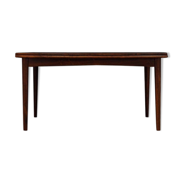 Selency Table à manger rosewood vintage design danois
