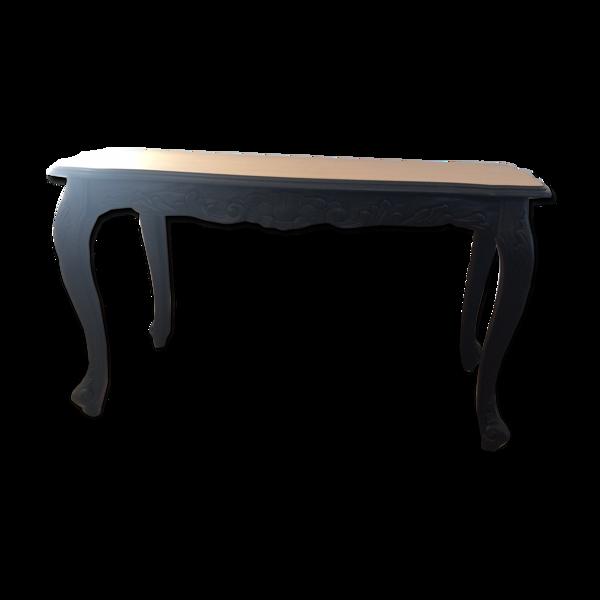 Table basse relookée rénovée