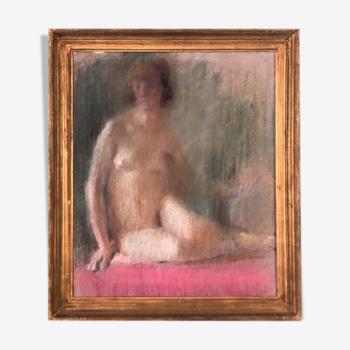 Tableau grand pastel 1930