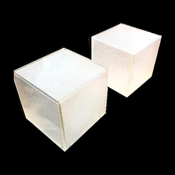 Cubes en plexiglass