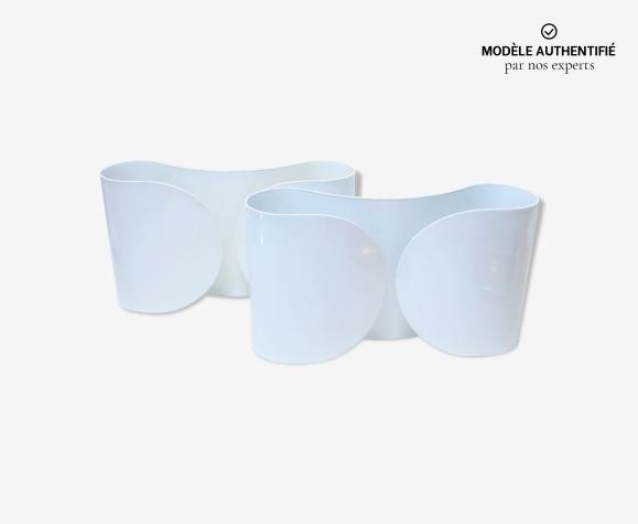 Paire d'appliques modèle Foglio de Tobia & Afra Scarpa