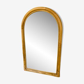 Miroir rotin - 56x34cm