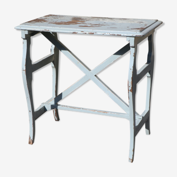 Directoire style table in painted wood
