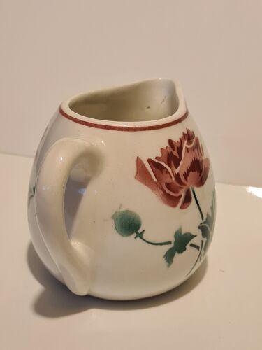 Pot à lait Faïence de Luxeuil décor floral