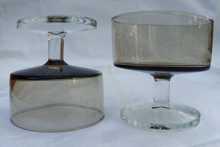 Coupes vintage années 70 luminarc