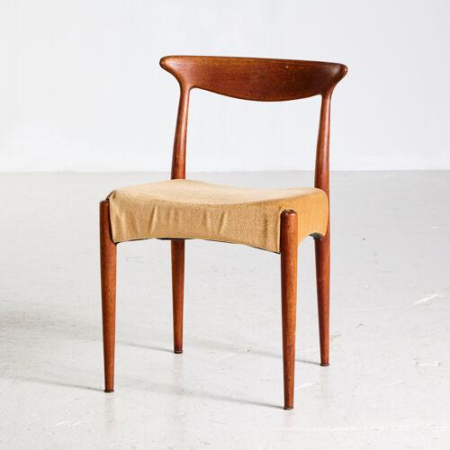 Ensemble de 4 chaises en teck Arne Hovmand Olsen pour Mogens Kold